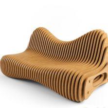 Дизайнерская скамья